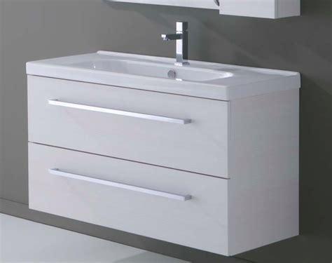 mobile da bagno sospeso mobile da bagno sospeso bianco rigato con lavabo minitrendy 81