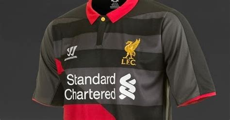 Tas Ransel Liverpool Merah Hitam Standard Chartered bocoran jersey 3rd liverpool 2014 2015 hitam merah toko jersey terbaru