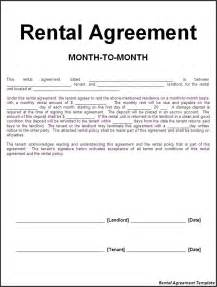 Rental Agreement Free Template application form rental agreement form letter