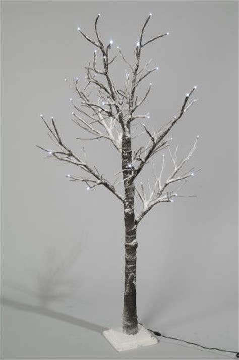 christmas tree 70cm pre lit 30 led snow twig low