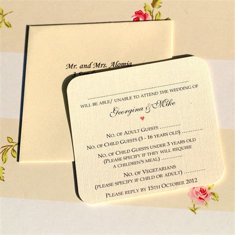 Personalised Wedding Invitations by Blossom Personalised Wedding Invitations By Beautiful
