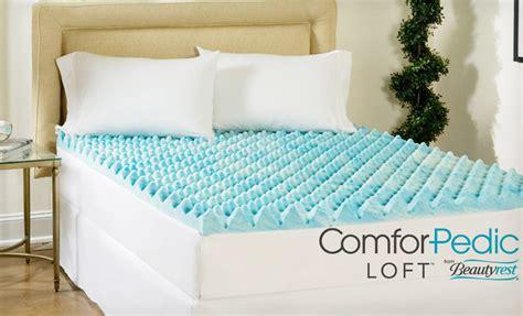 99 00 comforpedic loft by beautyrest 4 inch gel memory