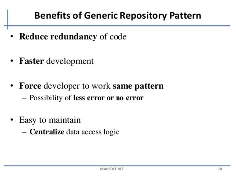 repository pattern and unit testing generic repository pattern with asp net mvc and ef