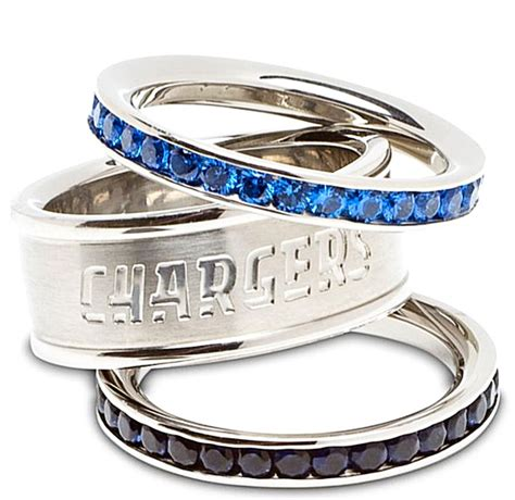 san diego chargers wedding ring bolt up chargers
