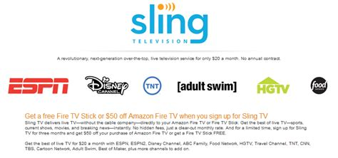 Sling Tv Gift Card Online - have you tried amazon sling yet a new television service for only 20 a month