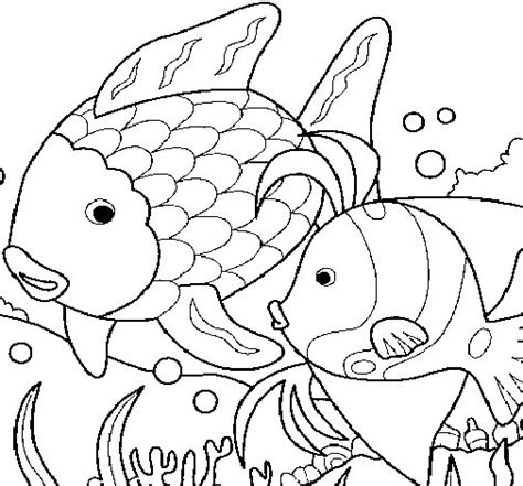 el ecosistema colouring pages dibujo de peces para colorear dibujos net