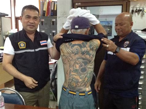 yakuza tattoo opening hours ex yakuza crime boss hiding in thailand fingered after