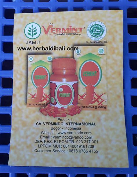 Obat Ekstrak Cacing jual vermint kapsul ekstrak cacing tanah di denpasar bali