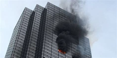 new york tower defense 3440 trump tower floor where man was killed in blaze didn t