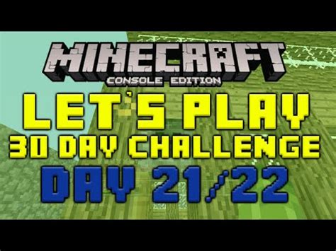 minecraft xbox 360 challenges minecraft xbox 360 30 day let s play challenge the