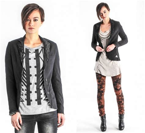5 Amazing Stud Styles For 2011 by Vsct Sweat Blazer With Studs Jacken Amazing Style
