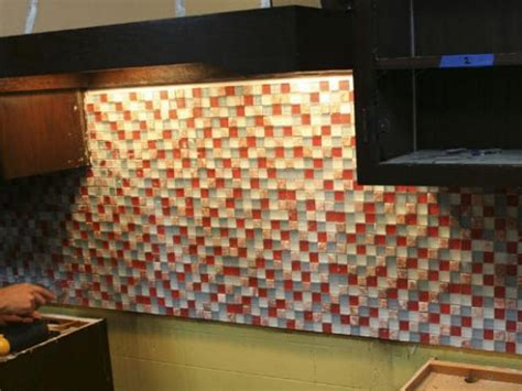 installing kitchen tile backsplash hgtv installing a tile backsplash in your kitchen hgtv