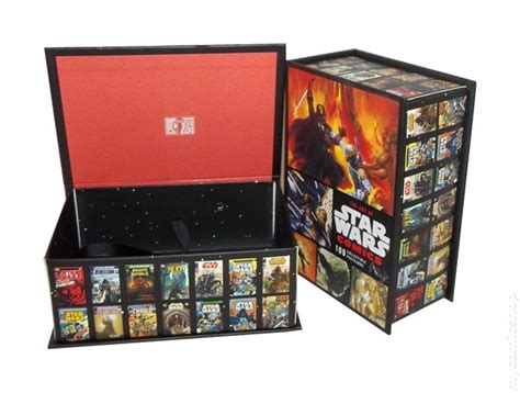 the art box postcards 0714865176 art of star wars comics collectible postcards box 2009 chronicle books box only comic books