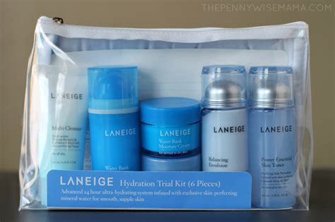 Laneige Waterbank Trial Kit laneige advanced hydration skincare review giveaway