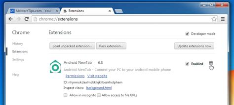 chrome extensions android how to remove android newtab virus removal guide