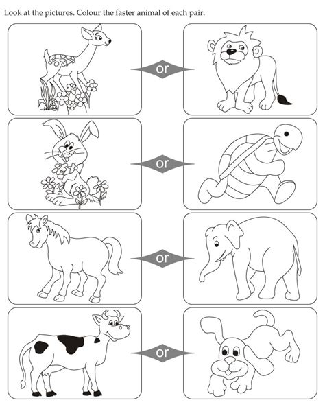 free coloring pages of opposites