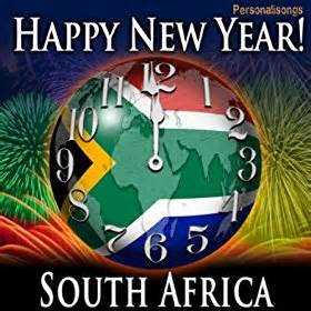 happy new year south africa with countdown and auld lang