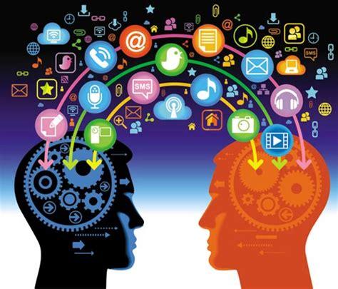 Manajement Relations And Media Komunikasi human brain how is working vectors