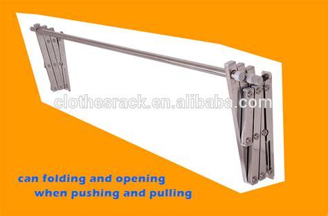 Gantungan Baju Lipat Wall Hanger Folding Clothes Rack Tchf29 quality folding retractable stainless steel hanging