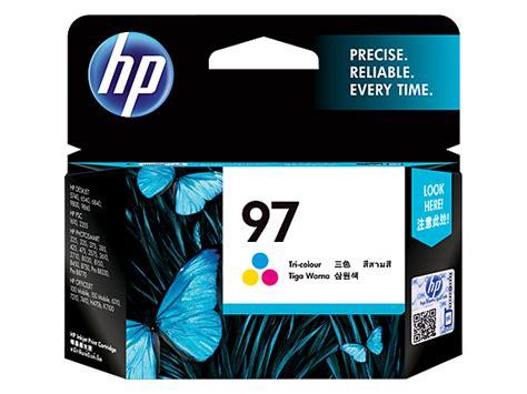Hp 97 Color Original Cartridge hp 97 tri color original ink cartridge c9363wa hp