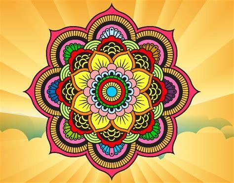 imagenes de mandalas coloridas mandala flor oriental bordados pinterest desenho de