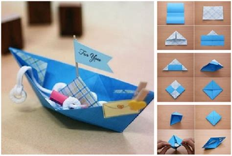 How Do You Make An Origami Boat - pin origami boat thats and easy