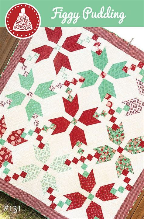 Into The Woods Quilt Pattern by Free Figgy Pudding Quilt Pattern By Goertzen Of