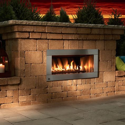 contemporary fireplace block lite