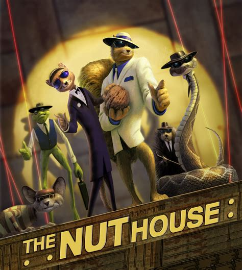 nut house vanguard and arc to build 3d nut house animation magazine