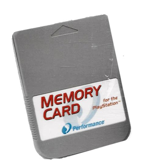 Memory Card Ps1 performance memory card 15 block for playstation 1 1 mb ps1