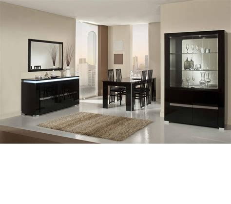 Elite Dining Room Furniture Dreamfurniture Elite Modern Italian Dining Table