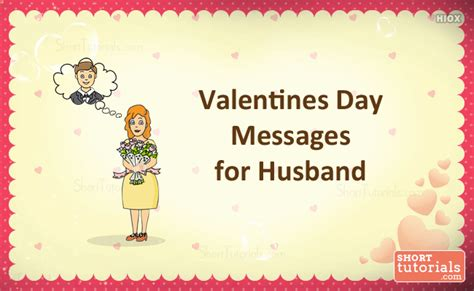 day wishes for husband valentines day messages for husband