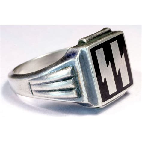 Rings For Sale by Wwii German Waffen Ss Silver Rings For Sale