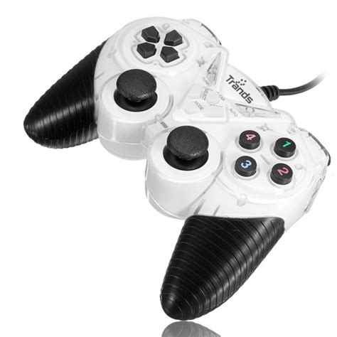 E Smile Gamepad Pc Dual Shock Controller trands usb 2 0 wired gamepad dual shock joystick pad