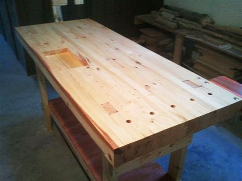 easy 2x4 bench build a 100 2x4 workbench with this simple instructable