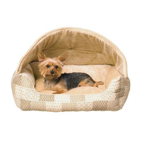 dog bed with hood k h hooded lounge sleeper