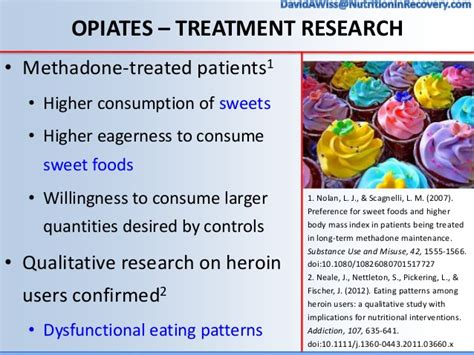 Foods To Eat When Detoxing From Opiates by Nutrition Interventions In Addiction Recovery The Of