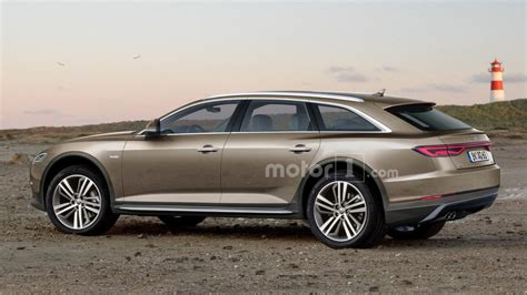 audi a6 allroad rendering looks ready to get