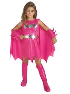 superwoman halloween costume kids pink batgirl supergirl superhero fancy dress kids