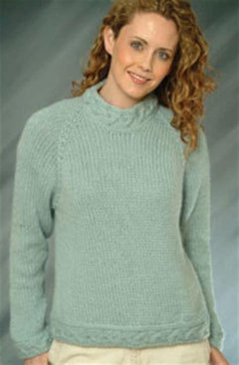 knit sweater top down free pattern ladies top down pullover sweater free pattern craftfoxes