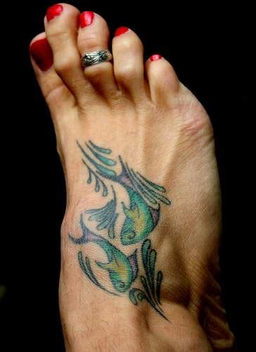 pisces tattoos popular tattoo designs