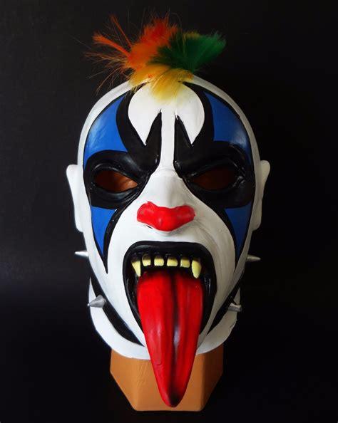 luchadores psicho sin mascara circus psycho clown m 225 scara de latex psycho circus luchadores