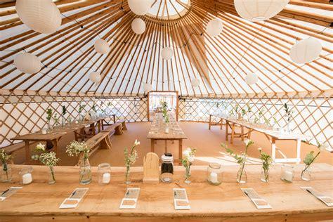 Wedding Yurt by Yurt Weddings Fron Farm Yurt Retreat
