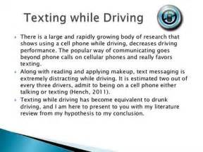Driving Essays by Texting While Driving Argumentative Essay