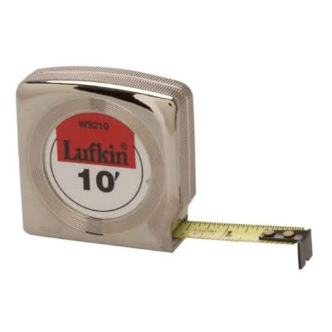 lufkin 10 ft x 1 2 in power return measure w9210
