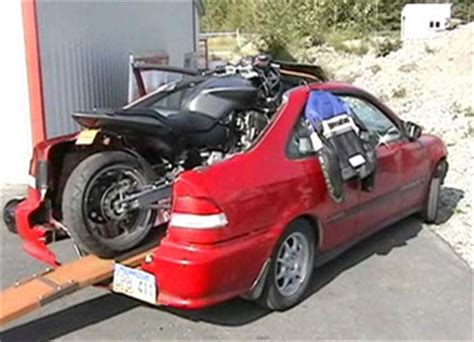 gawk pattern exles towing a motorcycle with a honda honda tech honda