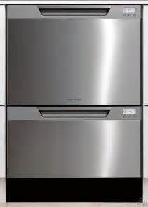 2 Drawer Dish Washer Fisher Paykel Semi Integrated Drawer Dishwasher
