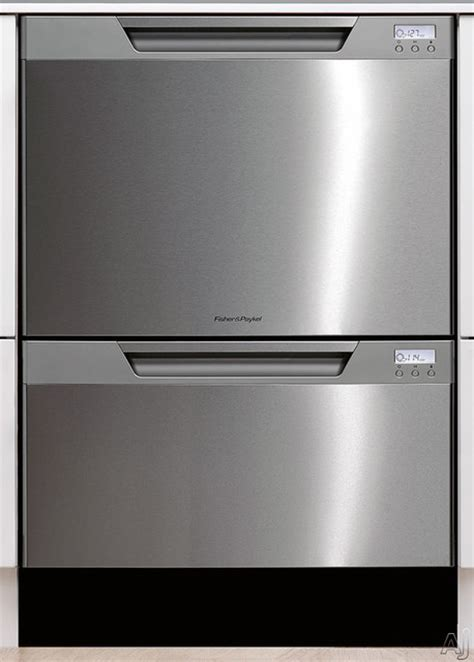 Two Drawer Dishwasher Bosch by Fisher Paykel Semi Integrated Drawer Dishwasher