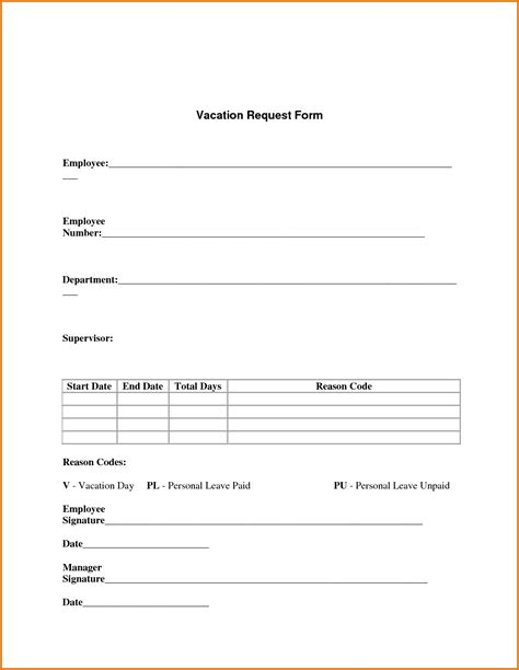 request letter format leave