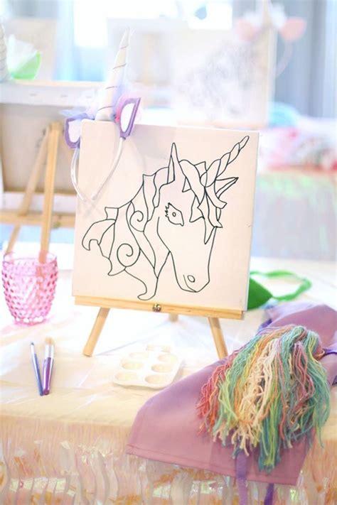 karas party ideas magical unicorn art birthday party karas party ideas